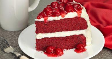 «Красный бархат» - Американский торт