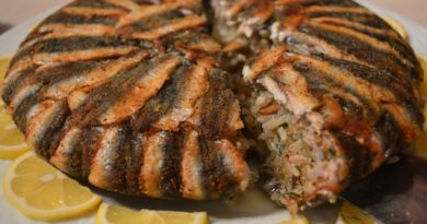 Хамси-пилав - Рыба по-турецки