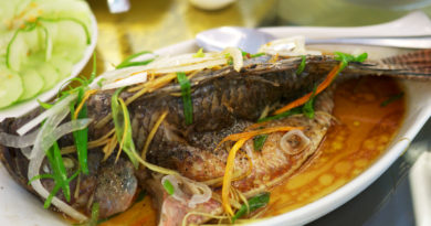 Ла Вонг - Традиционное вьетнамское рыбное блюдо