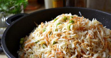Вермишель с рисом по-египетски