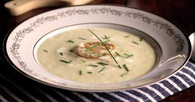 Вишисуаз - Луковый суп-пюре по французски