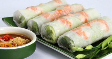 Холодный ролл «Ханой» по-вьетнамски