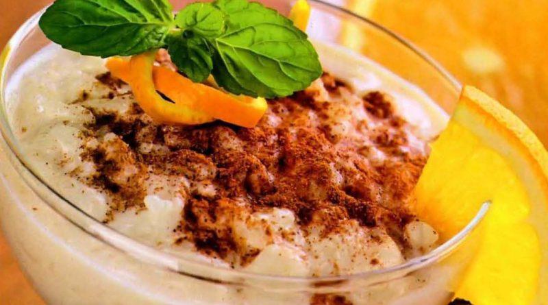 Ризогало - Греческий рисовый пудинг