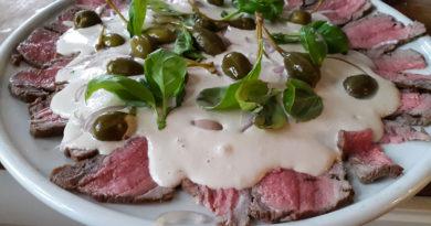 Вителло тоннато - Мясная холодная закуска по-итальянски