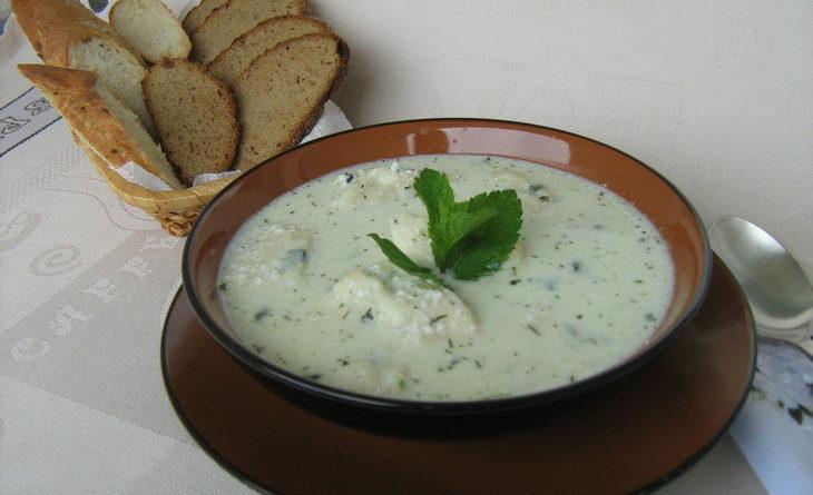 Гадазелили - Густой суп по-грузински