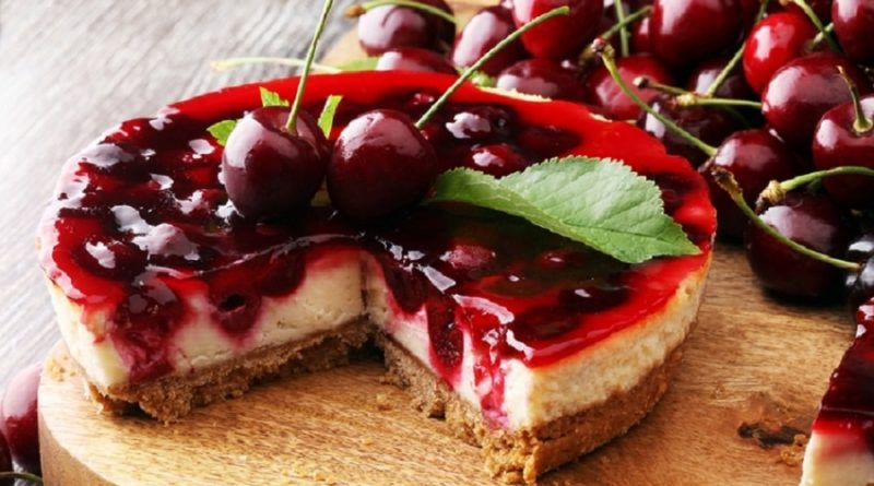Вишневый суп, вишневый торт и другие рецепты с вишней