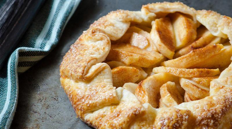 Пирог-галета с яблоками по-французски