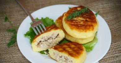 Бульбяные галки с мясом по-белорусски