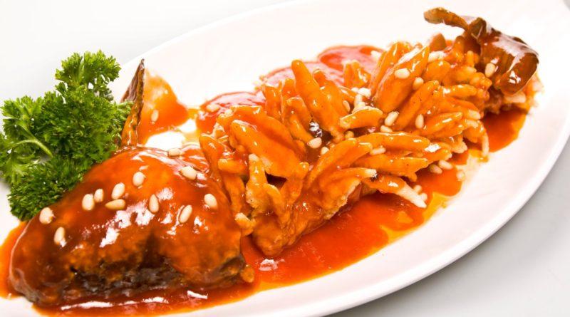 Карп в кисло-сладком соусе по-китайски