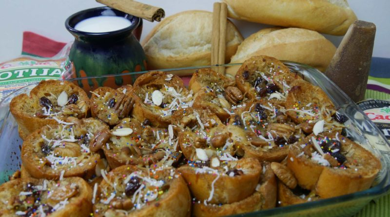 Капиротада - Хлебный пудинг по-мексикански