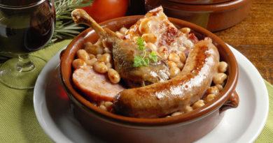 Кассуле - Рагу с мясом и бобами по-французски