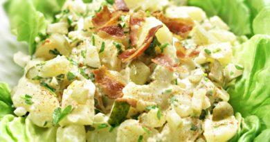 Бразильский картофельный салат