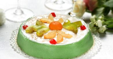 Кассата - Бисквитный торт с кремом из рикотты по-сицилийски
