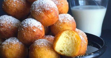Бухти - Пончики с творогом на Балканах