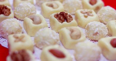 Бурфи из сметаны - Индийский десерт