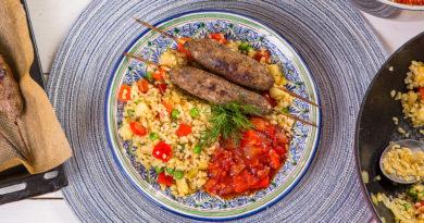 Восточные блюда с Булгуром (бургуль)