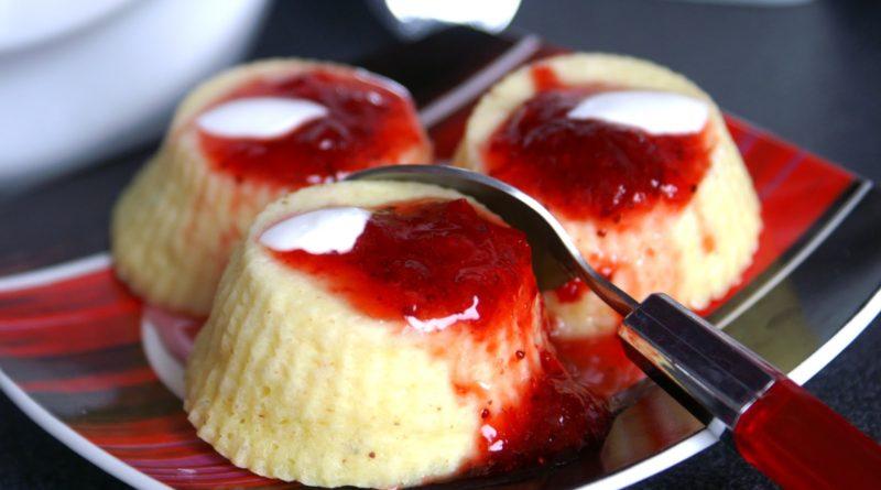 Буберт - Эстонский десерт из манной крупы