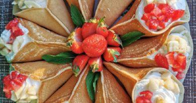 Катаеф - Арабские блинчики со сладкой начинкой