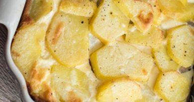 Бульвю сильке - Запеканка из картофеля с сельдью по-литовски