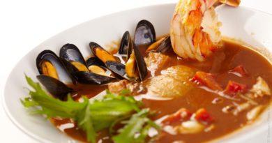 Буйабес - Французский суп из рыбы и морепродуктов