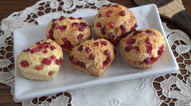 Брусничные маффины и другие рецепты с брусникой