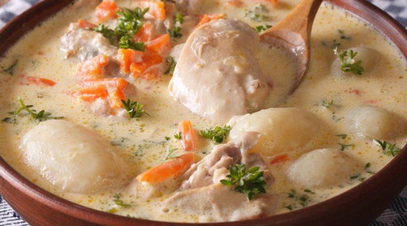 Ватерзой - Бельгийская похлёбка из рыбы (или курицы) и овощей