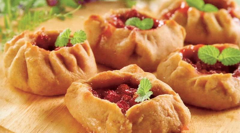 Калитка (колядка, преснушка, рогулька) - Традиционная русская выпечка
