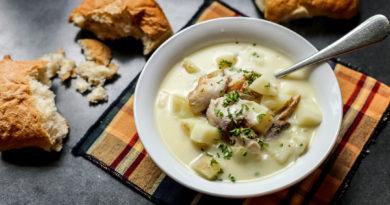 Каллен скинк - Густой шотландский суп из копчёной рыбы