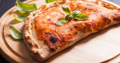 Кальцоне с курицей и грибами по-итальянски