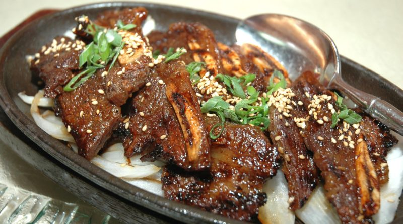 Кальби - Говяжьи рёбра по-корейски