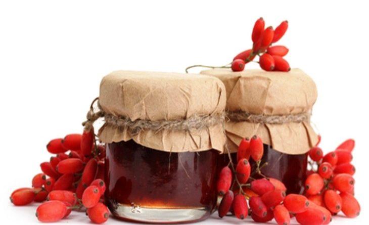 Барбарисовый соус и варенье из барбариса