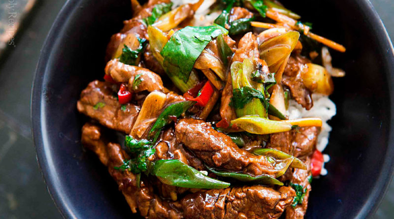 Баранина с лемонграссом по-тайски и другие рецепты с бараниной