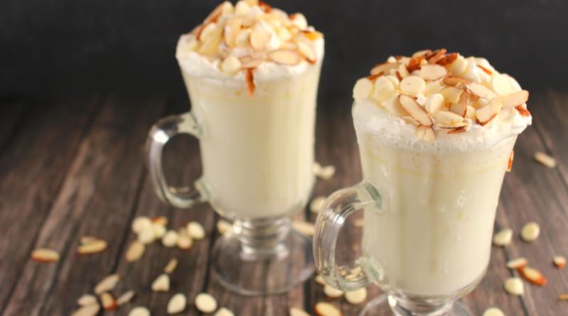 Молочный коктейль из белого шоколада с бадьяном