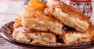 Баница - Слоеный пирог по-болгарски