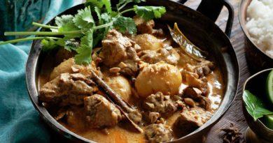 Массаман карри из говядины по-китайски