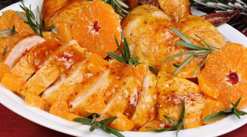 Куриные окорочка, маринованные в мандаринах и другие рецепты с мандаринами
