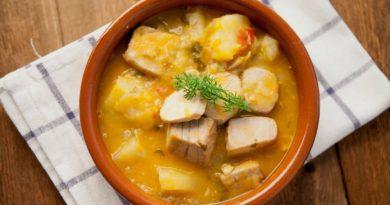 Мармитако - Тунец с картофелем по-испански