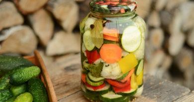 Маринад и маринование овощей