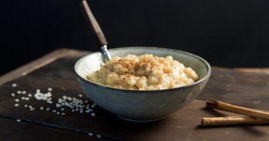 Пудинг из риса басмати