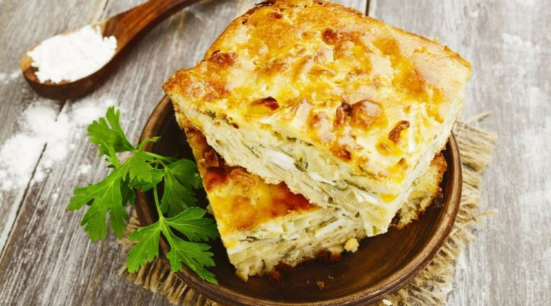 Открытый пирог с капустой и яйцом и другие рецепты с капустой