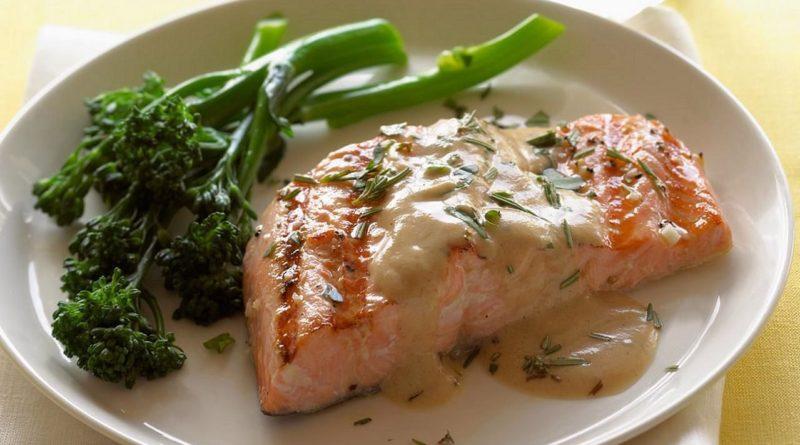 Рыбное филе с соусом берси по-французски