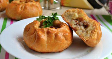 Беляши с мясной начинкой по-татарски