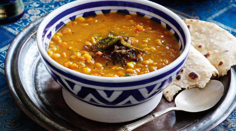 Дхал (дал) - Вегетарианский суп из бобовых по-индийски
