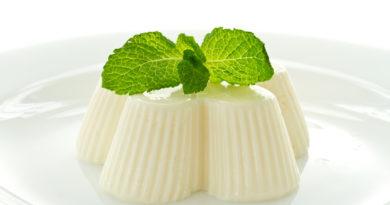 Молочное желе и другие виды желе