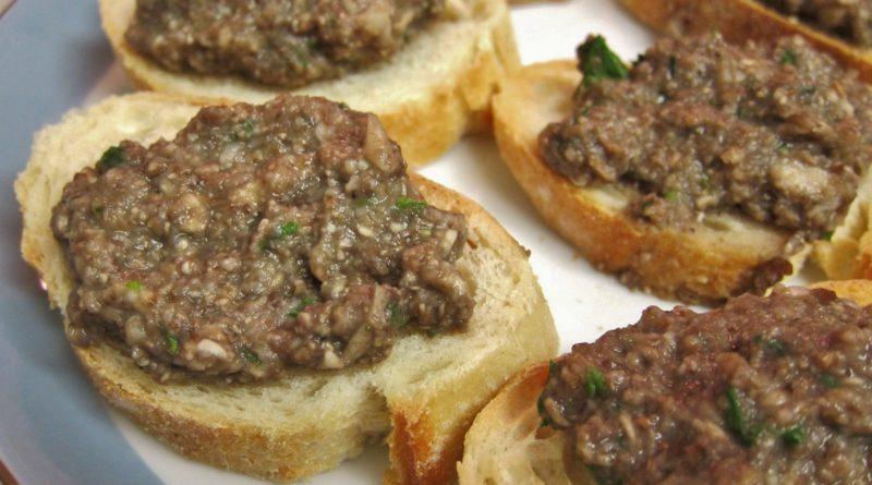 Дюксель - Жареные грибы по-французски