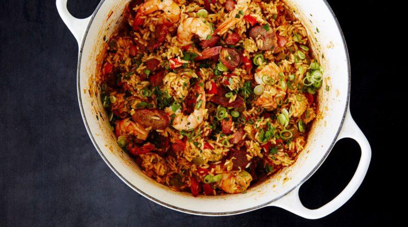 Джамбалайя - Блюдо на основе риса с курицей по-креольски