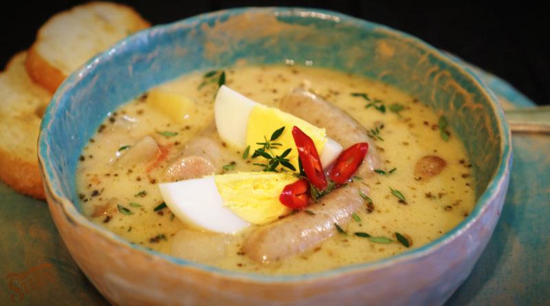 Жур по-домашнему - Белорусский суп