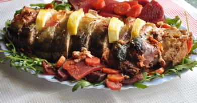 Гефилте фиш - Фаршированная рыба по-еврейски