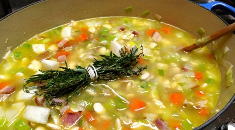 Гарбюр - Густой французский суп с капустой