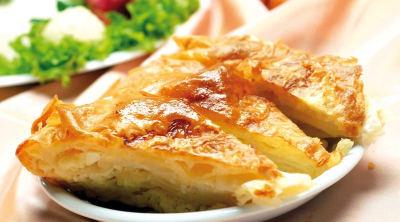 Гибаница - Пирог с творогом по-сербски